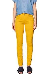edc by Esprit 029CC1B021 Pantalon, Jaune (Honey Yellow 710), W40/L32 Femme
