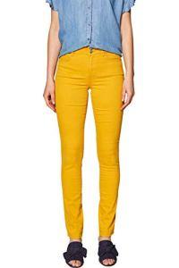 edc by Esprit 029CC1B021 Pantalon, Jaune (Honey Yellow 710), W40/L32 Femme