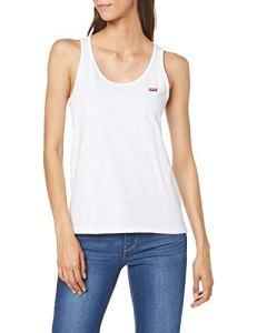 Levi's Relaxed Graphic Crew Sweat-Shirt – Femme – Gris (Fleece Batwing Smokestack Htr 0000) – Medium