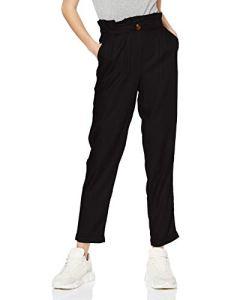 Pimkie Pantalon carotte noir taille haute Femme – Taille M