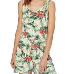 Vero Moda Vmlizzy Playsuit JRS Combishort, Multicolore Molly Snow White AOP, 42 (Taille Fabricant: Large) Femme