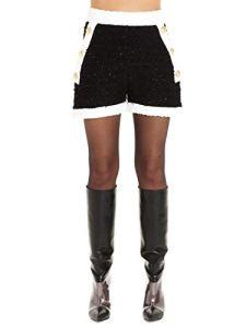 Balmain Luxury Fashion Femme SF15040K470EAB Blanc Shorts | Automne Hiver 19