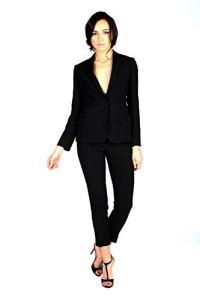 Brian Dales Tailleur Pantalon Noir – Noir – 40