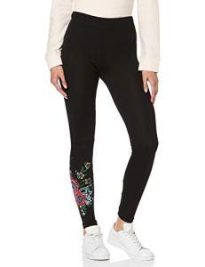 Desigual – 18WWKK06 – Legging – Femme -(Noir 2000) – L