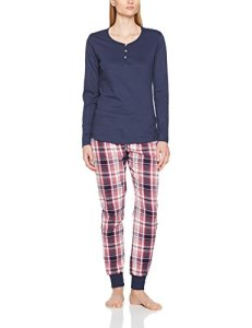 Esprit 107ef1y005 Ensemble De Pyjama, Rose (Dark Old Pink 675), 44 Femme
