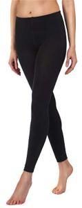 Merry Style Collant Legging Thermique Femme 24555 (Noir (Legging), EU 38/40=FR 40/42)