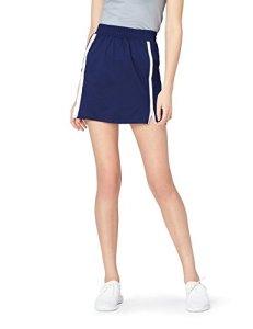Activewear Track Jupe de Sport Femme, Bleu (Navy), 44 (Taille Fabricant: X-Large)