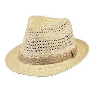 Barts-Chapeau de Paille Beige Modèle Femme