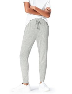 find. Joggers with Drawstring Waist and Tapered Cut Pantalon, Gris (Grey Marl), 40 (Taille Fabricant: Medium)
