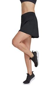 HonourSport-Jupe-Short de Golf Courte Moulant Elastiquée pour Sport-Femme