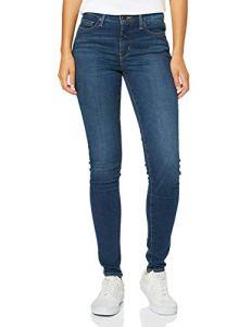 Levi's 310 Shaping Super Skinny Jean Femme – Bleu (Breakthrough Blue 0035) – 26W/30L (Taille fabricant: 26W/30L)