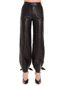 OFF-WHITE Luxury Fashion Femme OWJB005F199860501000 Noir Pantalon | Automne_Hiver