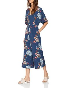 Pepe Jeans CELAIA Salopette, Multicolore (Multi Bleu 0aa), Large (Taille Fabricant: L) Femme