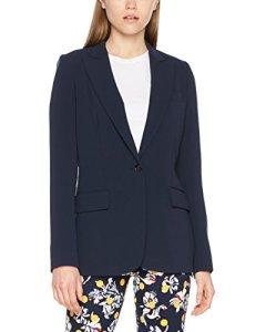 Tommy Hilfiger Jillian Sb Blazer, Veste De Costume Femme, Bleu (Peacoat 443), 36 (Taille fabricant: 6)