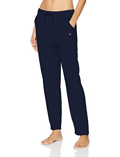 Tommy Hilfiger, Pantalon de survêtement Femme, Bleu (Navy Blazer 416), Small