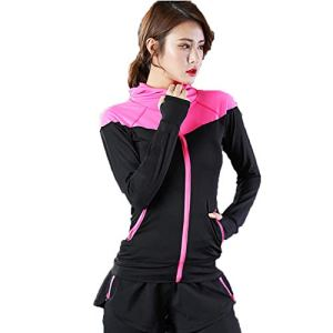 19Kenbeton Lot de 3 Shorts de Compression à séchage Rapide en Plastique pour Femme M Rose Rouge