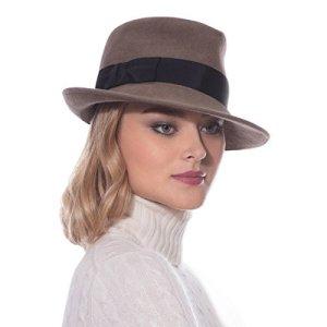 Eric Javits aux Femmes Concepteur Couvre-Chef Chapeau Taille Unique Vison