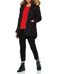 Schott NYC JKTHALLW Veste de Sport, Noir (Black2 Bla2), Taille Fabricant: L Femme