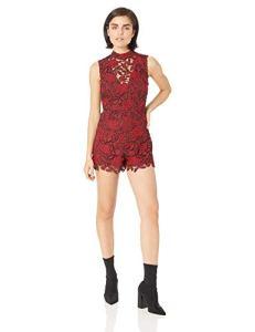 GUESS Women's Teegan Lace Romper