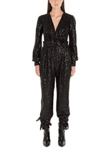 IN THE MOOD FOR LOVE Femme Amberjumpsuitblack Noir Polyester Combinaison