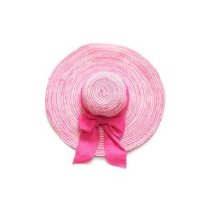 baixa Summer Sun Hats Chapeau de Paille pour Femme, Chapeau de Soleil, Chapeau de Praia. – Rose – Taille Unique