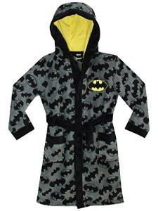 Batman – Robe de Chambre – DC Comics Batman – Garçon -Multicolore -9 – 10 Ans