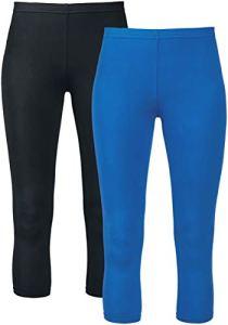 Black Premium by EMP Made for Double Comfort Legging Noir/Bleu XXL