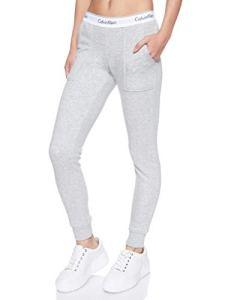 Calvin Klein Bottom Pant Jogger Pantalon De Sport, Gris (Grey Heather 020), Unique (Taille Fabricant: X-Small) Femme