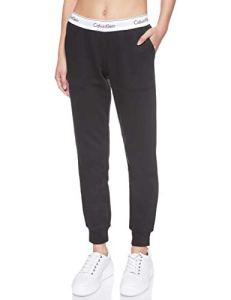 Calvin Klein Bottom Pant Jogger Pantalon De Sport, Noir (Black 001), Unique (Taille Fabricant: Medium) Femme