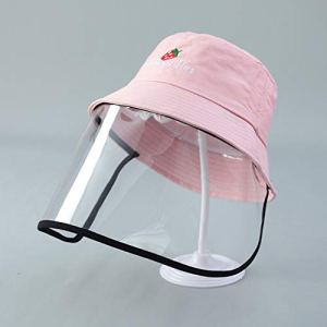 CJNE Unisexe Anti-crachant Chapeau De Protection Housse Antipoussière pour Hommes Femmes Pêcheur Chapeau Chapeau