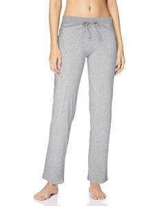 Esprit Jordyn Long Pant Bas De Pyjama, Gris (Light Grey 040), 42 (Taille Fabricant: 40) Femme