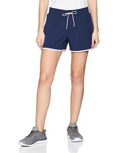 Esprit Sports WV SL Short de Sport, Bleu (Navy 400), W38 (Taille Fabricant: Medium) Femme