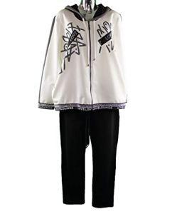 FV Pantalon de Jogging pour Femme – Ecru – XL