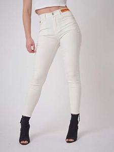 Jean Skinny fit étiquette Logo Blanc 38fr