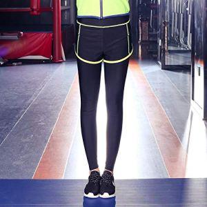 Leggings De Sport Femme Vêtements De Yoga d'hiver Pantalons De Fitness pour Femmes Étroits Et Serrés Deux Pièces De Sport