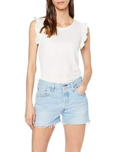 Levi's 501 High Rise Short, Bleu (Weak in The Knees 0013), W31 (Taille Fabricant: 31) Femme