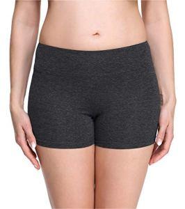 Merry Style Short Cycliste Hotpants Legging Court Femme MS10-284 (Mélange Foncé(Shorts), XS)