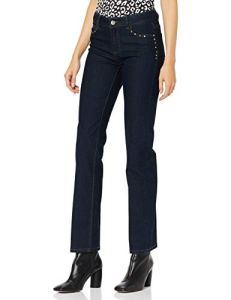 Morgan 192-POPY.N Pantalon, Beige (Brut Brut), (Taille Fabricant:38) Femme