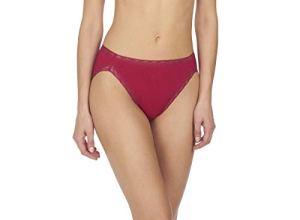 Natori Bliss Culotte Coupe française pour Femme – Rouge – Taille S