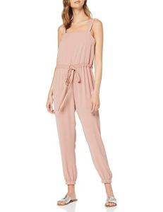 New Look Strappy Drawstring 6277665 Combinaison, Beige (Nude 72), 42 (Taille Fabricant: 14) Femme