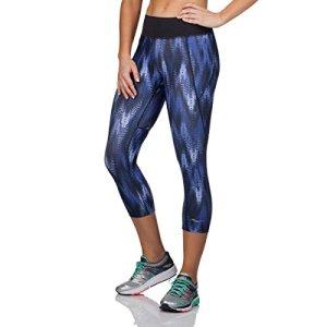 Saucony femmes Scoot LX Capri Pantalons L Imprimé indigo