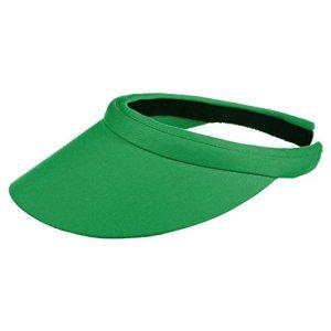 Seeberger Visiere Azalee pour Le Soleil Protection Solaire (Taille Unique – Vert)