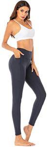 SPFASZEIV Legging Sport Femme Pantalon de Yoga Taille Haute avec Poches,Non Transparent Running Elastiques Pantalon pour Fitness/Yoga/Jogging