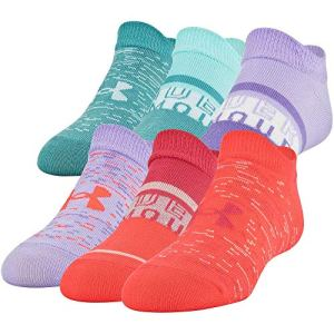Under Armour Women`s Essential 2.0 No Show Socks 6 Pack