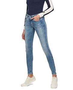 G-STAR RAW Lynn D-Mid Waist Super Skinny' Jeans, Bleu (lt Aged Destroy 9136-1243), 30W / 34L Femme