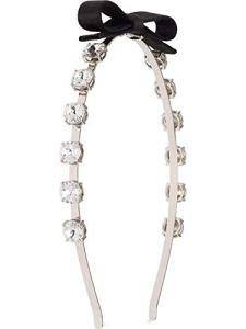 Miu Miu Luxury Fashion Femme 5JH0582B8JF0002 Argent Bandeau | Printemps_Été