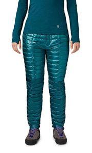 Mountain Hardwear Ghost Whisperer Pantalon en Duvet pour Femme – – Large régulier