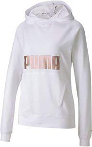 Puma Sweat à capuche pour femme – – Large
