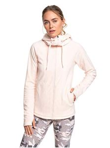 Roxy Womens Electric Feeling – Zip-Up Hoodie – Women – Xs – Pink Peach Blush Xs
