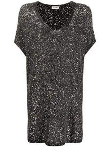 Saint Laurent Luxury Fashion Femme 615484YAOW21040 Argent Robe |